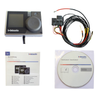 Upgrade kit for auxiliary heating for VW T5 with manual...