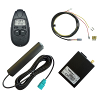 Upgrade kit for auxiliary heater for VW T5 with manual...